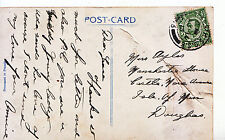 Genealogy Postcard - Family History - Ayles - Isle of Man - Douglas  A3572