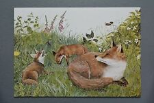 R&L Postcard: 1980's Vixen and Cubs Medici, Fox