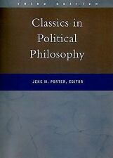 Classics in Political Philosophy by Jene M. Porter (2000, Paperback)