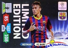 2013/14 Panini Adrenalyn Champions League EXCLUSIVE Neymar Limited Edition MINT