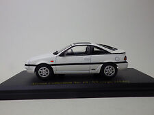 NISSAN NX coupe 1990  Whlite  Nissan Collection No.19  NOREV 1:43 USED