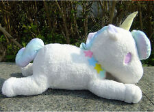 "23"" Sanrio Little Twin Stars Cotton White Unicorn Pillow Plush Doll  L NWT"