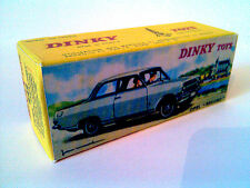 Boîte copie repro Dinky Toys 542 opel rekord ( reproduction box )