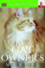 Cat Owner's Manual, Fogle, Bruce, Very Good Book