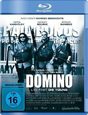Domino - Live fast, Die young [Blu-ray](NEU/OVP) Keira Knightley, Mickey Rourke,
