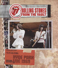 THE ROLLING STONES: FROM THE VAULT - HYDE PARK - LIVE 1969 (NEW DVD)