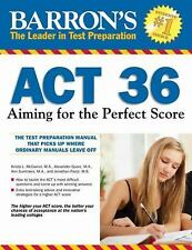 Barron's ACT 36 : Aiming for the Perfect Score by Krista L. McDaniel,...