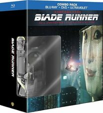 BLADE RUNNER 30th Anniversary BLU-RAY Collector's Edition ART BOOK + SPINNER CAR