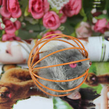 Amusing Playing Toys False Mouse in Rat Cage Ball For Pet Cat Kitten Gift FT