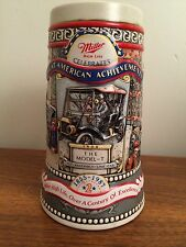 Miller Beer Stein - Great Achievements -1987 - The Model T