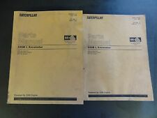 Caterpillar 330B L Excavator Parts Manual  SEBP2437-03  1998  Volume I & II