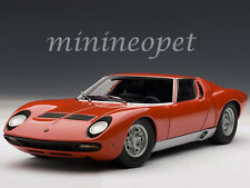 AUTOart 74543 LAMBORGHINI MIURA SV 1/18 DIECAST MODEL CAR RED