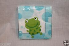 NEW  BABY SHOWER DUCKS AND FROGS6528201032 DESSERT NAPKINS  PARTY SUPPLIES