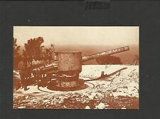 Nostalgia Postcard Golan Heights-German Gun on Mount Carmel Palestine 1918