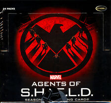 2015 Marvel Agents of SHIELD Season 2 Trading Cards SEALED 12-Box HOBBY Case
