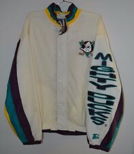 Rare Vintage 90s Starter NHL Anaheim MIGHTY DUCKS Hockey Jacket Mens L Disney