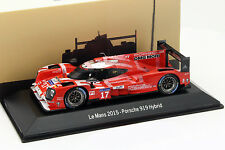 Porsche 919 Hybrid #17 2nd 24h LeMans 2015 Bernhard, Hartley, Webber Dirty Versi