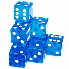Brybelly 10 Count 19mm Dice - BLUE - NEW