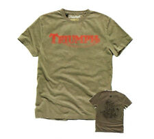 GENUINE TRIUMPH MOTORCYCLES BROCK T-SHIRT SIZE MENS MEDIUM WAS £28 NOW £!8