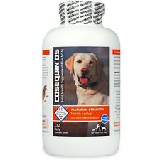 COSEQUIN DS Plus MSM For Dogs (132 Chewable Tablets) by Nutramax NEW