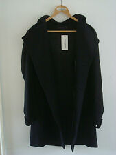 BNWT OPENING CEREMONY x FREMONT Hooded Wool Overcoat - M/L - RRP $705 - Stunning