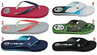 Mens Urban Beach Flip Flops Footwear Holiday Summer Sandals Slip On Size 6-11