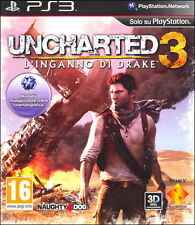 Uncharted 3 Per Ps3 Usato Originale e in ITALIANO PlayStation 3!!!
