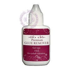 EYELASH EXTENSIONS ADHESIVE GLUE REMOVER GEL TYPE 15 ml
