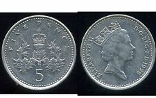 ROYAUME UNI   five   5  pence 1995