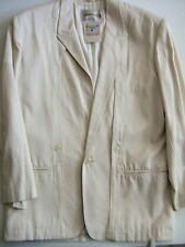 MARTINIQUE RARE MEN'S VINTAGE CLASSIC 1970S WHITE LINED SPORTJACKET-NWT-SIZE SML