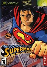 Superman: The Man of Steel - Original Xbox Game - Game Only