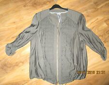 Gorgeous Designer Gelco Khaki Jacket Size 44 18 BNWOT Cost over £100