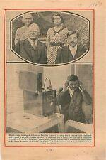 Pierre Laval & Josette President Herbert Clark Hoover USA Telephone  1931