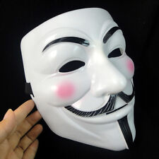 V for Vendetta Guy Fawkes Mask Anonymous Halloween Cosplay Party Dress Costumes