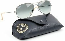 Rayban RB 3362 029/71 Aviator Sunglasses Black Frame Grey Lens Free Shipping