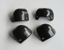 4x Plastic Black Guitar AMP Amplifier Cabinet Corner Front for Marshall