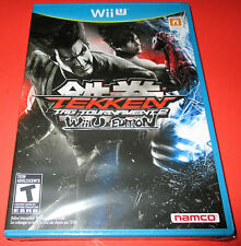 Tekken Tag Tournament 2 - Wii U Edition - Nintendo WiiU New! Free Shipping!