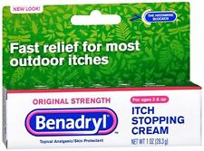 Benadryl Itch Stopping Cream Original Strength 1 oz