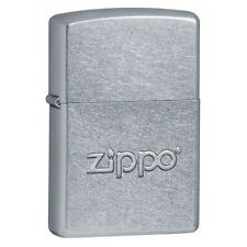 Zippo 21193 Street Chrome w/Stamp Windproof Lighter NEW LIFETIME WARRANTY USA