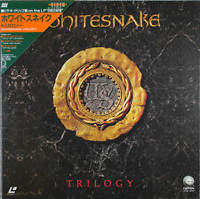 WHITESNAKE / TRILOGY Laserdisc JAPAN LD w/TriangleOBI 35P6-9021