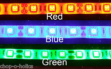 LED ULTRA BRIGHT 5050 FOOTWELL/INTERIOR STRIP LIGHTING 2x30CM 3 COLOURS