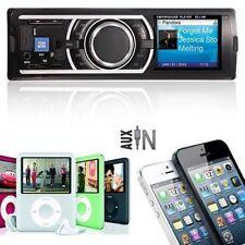 STEREO AUTO FM Ricevitore LETTORE MP3 WMA USB SD Ingresso AUX 3.5 mm Audio Ricevitore