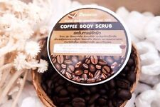 50g. PARADISE NATURAL ARABICA COFFEE BODY AND FACE SCRUB REDUCE CELLULITE & ACNE