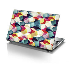 "TaylorHe 15.6"" Laptop Vinyl Skin Sticker Decal Funky Colourful Pattern 2144"