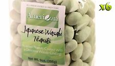 54oz Gourmet Style Bags of Delicious Japanese Wasabi Peanuts [3 3/8 lbs.]