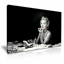Marilyn Monroe Hollywood Icon Canvas Wall Art Picture Print 76cmx50cm