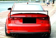AUDI A3 8V FROM 2013 SALOON / SEDAN REAR TRUNK SPOILER S3 LOOK NEW 4 DOORS