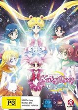 Sailor Moon Crystal Set 2 (Eps 15-26) NEW R4 DVD
