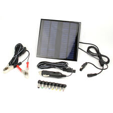 18V 2W Portable Solar Panel Battery Charger Backup For Laptops/Computer/Car/Boat