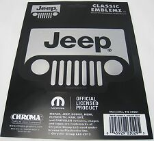 2 JEEP DECALS AUTO TRUCK CAR ACCESSORIES STICKER 4X4 D0060